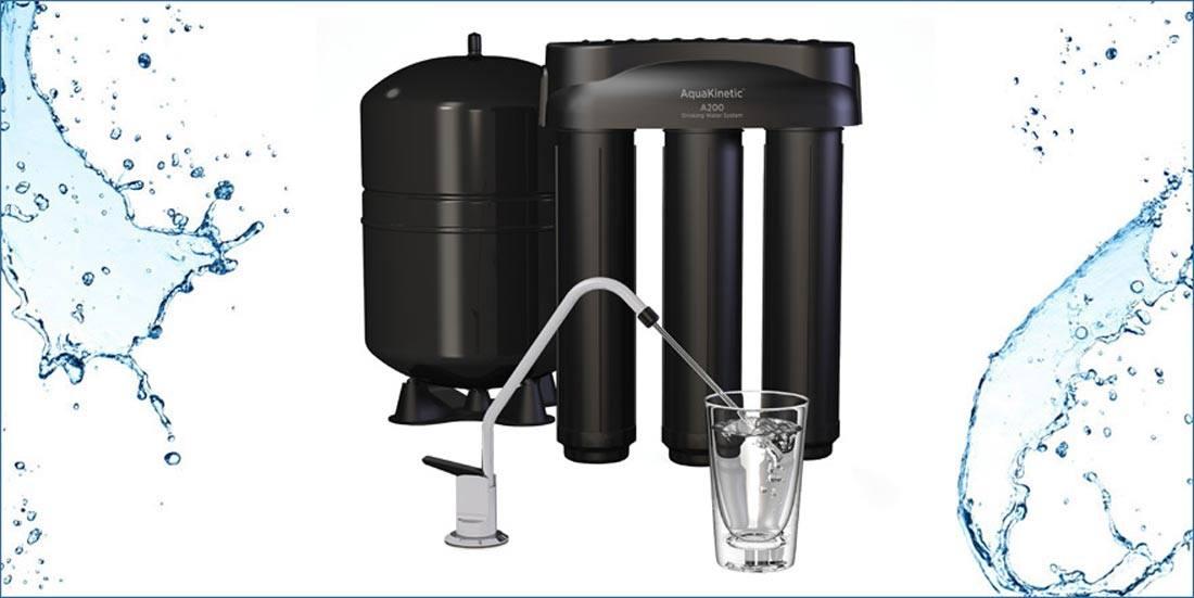 k2, il sistema di Kinetico ad Osmosi inversa per Enki water Italia