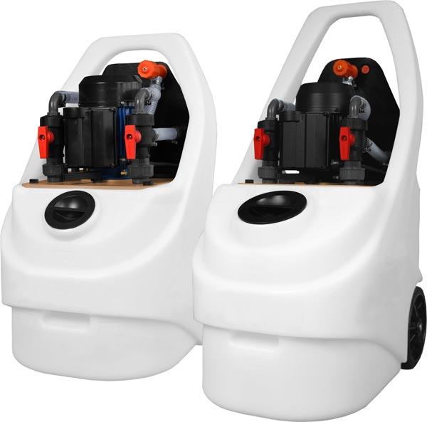 Le pompe EPS Enki per il lavaggio degli impianti termici e di condizionamento