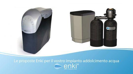impianto addolcimento acqua - enki water kinetico