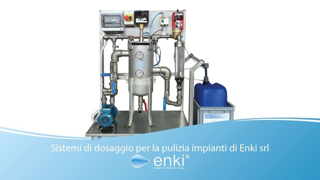 sistemi di dosaggio - enki water