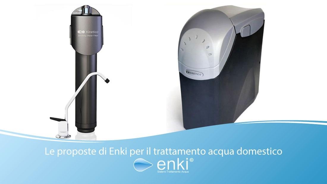 trattamento acqua domestico - enki water