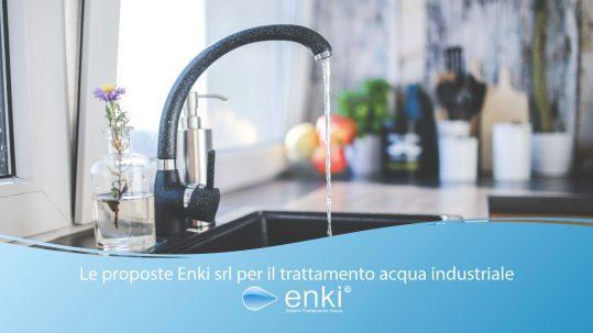 trattamento acqua industriale - enki water