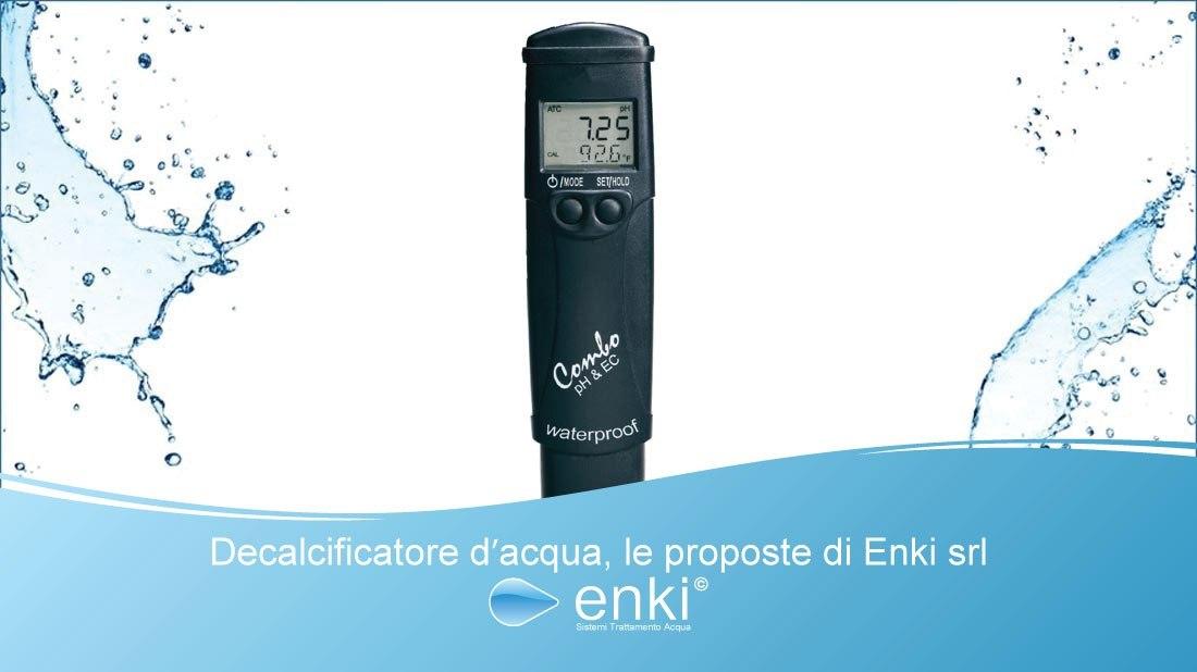 Strumenti di analisi acqua Enki srl